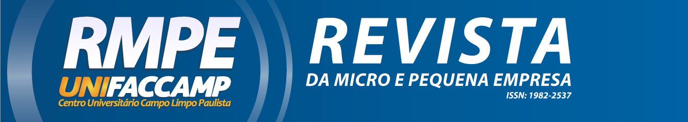 Revista da Micro e Pequena Empresa - UNIFACCAMP